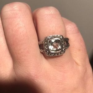 David yurman prasiolite ring.  Size 5.